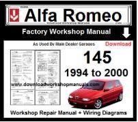 alfa romeo 147 workshop repair service manual download