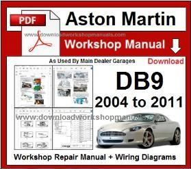 Aston Martin DB9 Workshop Service Repair Manual pdf