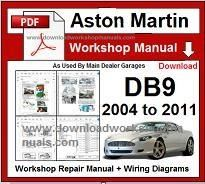 aston martin db9 workshop manual pdf