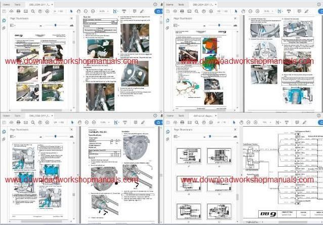 Aston Martin Db9 Workshop Service Repair Manual Download