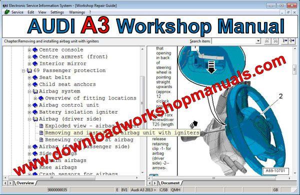 Audi A3 Workshop Repair Manual