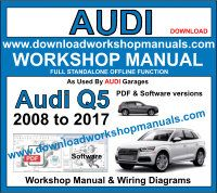 Audi Q5 Service Repair Workshop Manual