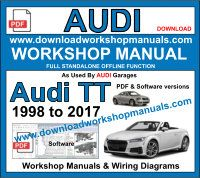 Audi TT Service Repair Workshop Manual
