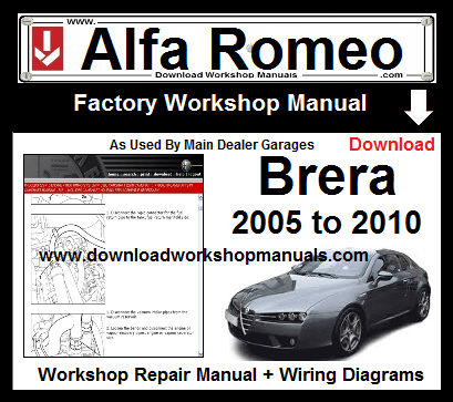 Alfa Romeo Brera Service Repair Workshop Manual