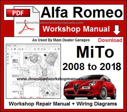 repair manual download  alfa romeo mito scarica il manuale di riparazione