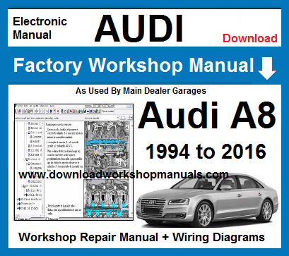 Audi A8 Service Repair Workshop Manual