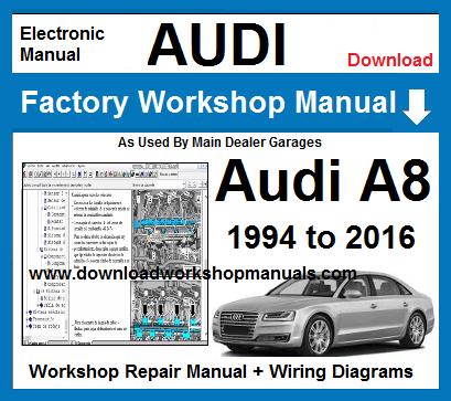 audi 100 1994 repair and service manual