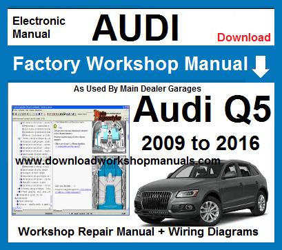 2012 audi wiring diagram audi q5 workshop repair manual  audi q5 workshop repair manual