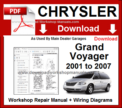 Grand Voyager Workshop Service Repair Manual Download