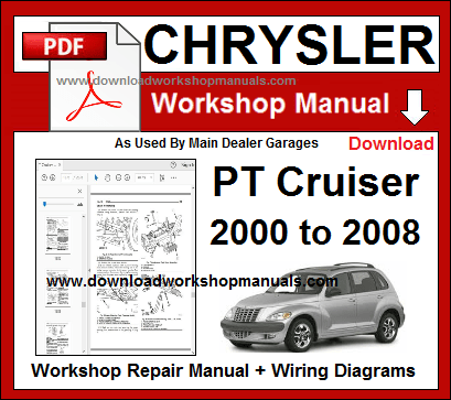 Chrysler PT Cruiser Workshop Service Repair Manual Download