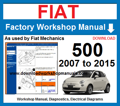 Fiat 500 Workshop Repair service Manual