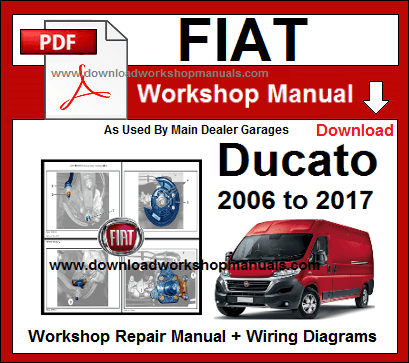 Fiat Ducato Service Repair Workshop Manuals Download