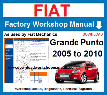 Fiat Grande Punto Workshop Manual