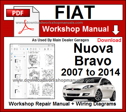 Fiat New Bravo Workshop Manual