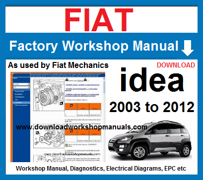 Fiat Idea Workshop Repair Manual