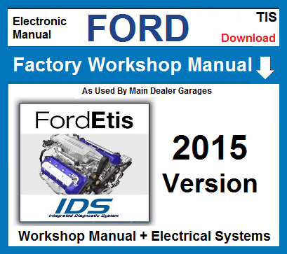 Ford Etis Workshop Repair Manual