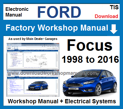 Ford Focus Workshop Service Repair Manual Download