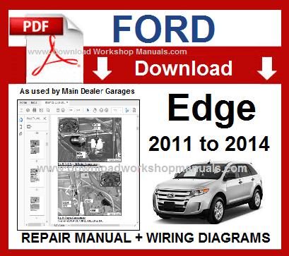 ford edge workshop manual pdf  download workshop manuals .com