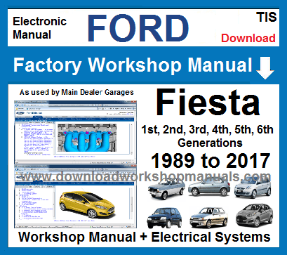 Ford Fiesta Workshop Service Repair Manual