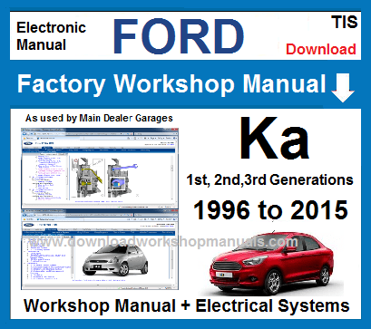 Ford Ka Service Repair Workshop ManualDownload Workshop Manuals .com