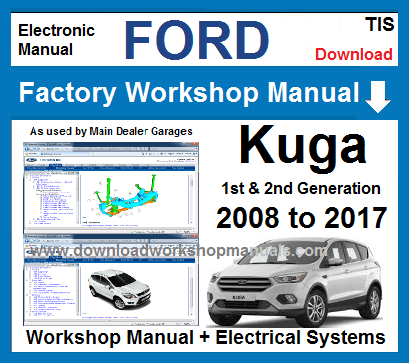 ford kuga workshop manuals