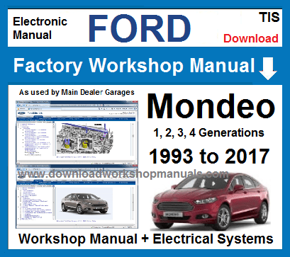 Ford Mondeo Workshop Service Repair Manual