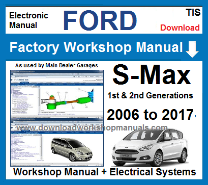 Ford S Max Workshop Service Repair Manual