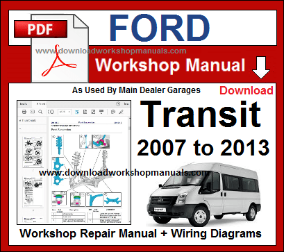 Terrific Ford Transit Pdf Workshop Repair Manual Wiring Cloud Tziciuggs Outletorg