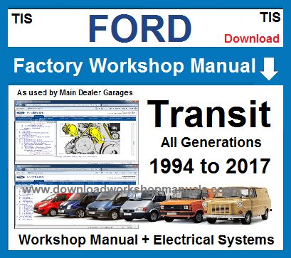 Ford Transit Workshop Service Repair Manual
