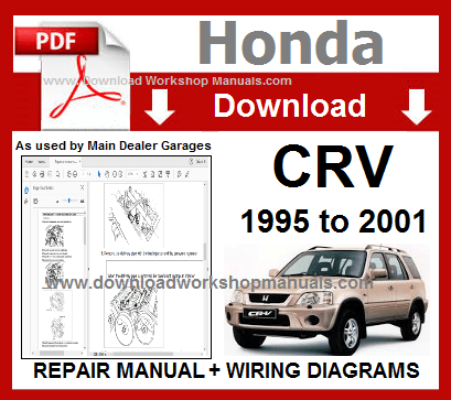 Honda CRV Workshop Manual