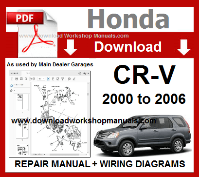 Honda CRV Service Repair Manual