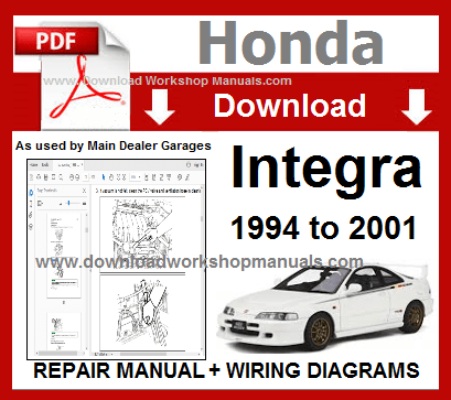 Honda Integra Workshop Service Manual
