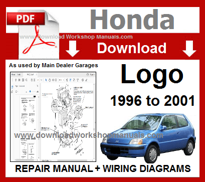 Honda Logo Workshop Repair Manual