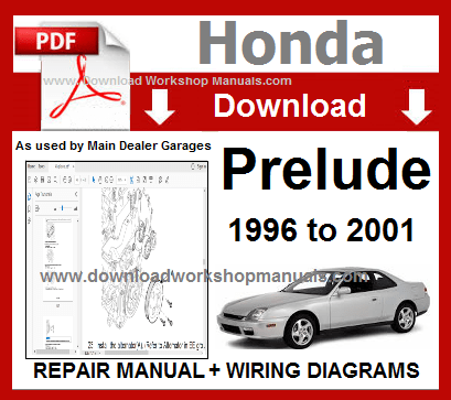 Honda Prelude Workshop Manual
