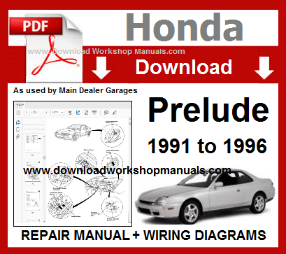 Honda Prelude Workshop Service Manual