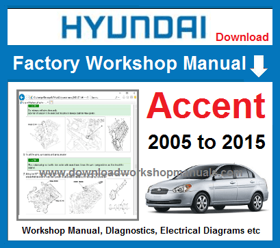 Hyundai Accent Service Repair Manual Download