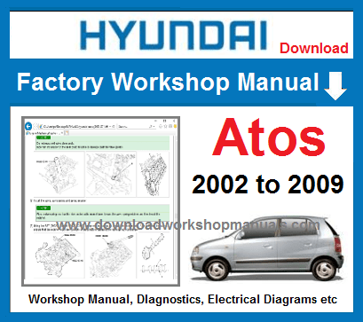 Hyundai Atos Service Repair Manual Download