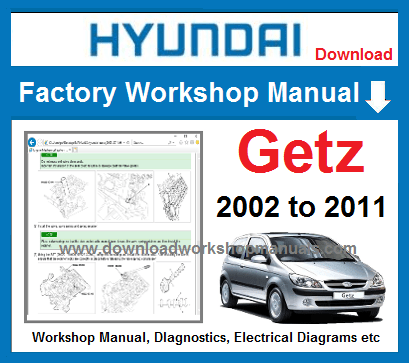 Hyundai Getz Service Repair Manual