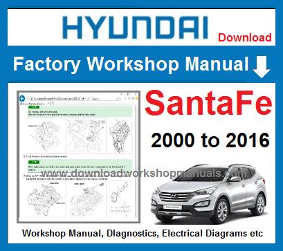 2011 hyundai santa fe repair manual
