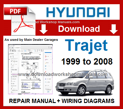 Hyundai Trajet Service Repair Manual
