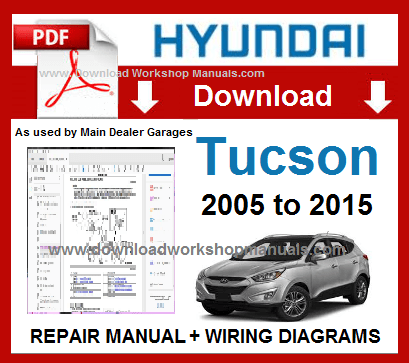 Hyundai Tucson Service Repair Manual