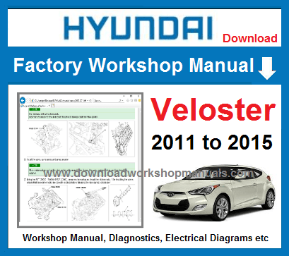 Hyundai Veloster Service Repair Manual