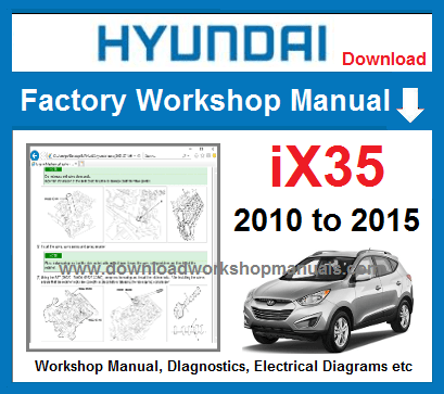 Hyundai ix35 Service Repair Manual