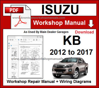 Isuzu KB  Workshop Repair Service Manual Download