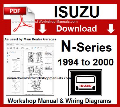 isuzu n series service repair workshop manual download