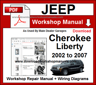 Jeep Cherokee Liberty workshop repair manual