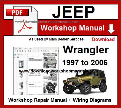 jeep wrangler workshop repair manual download