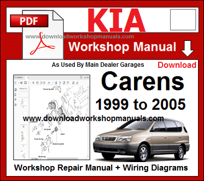 Kia Carens Repair Service Workshop Manual Download