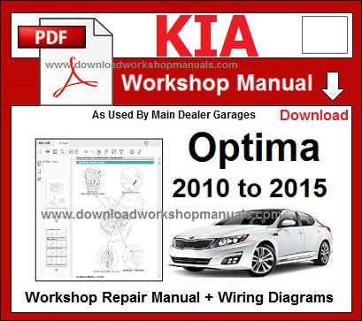 Kia Optima Workshop Repair Manual | 2014 Optima Car Wiring Diagrams |  | Download Workshop Manuals .com