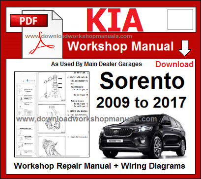 KIA WORKSHOP MANUALS